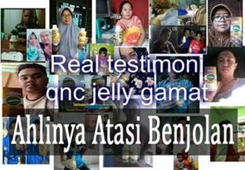 testimoni qnc jelly gamat atasi berbagai jenis penyebab benjolan