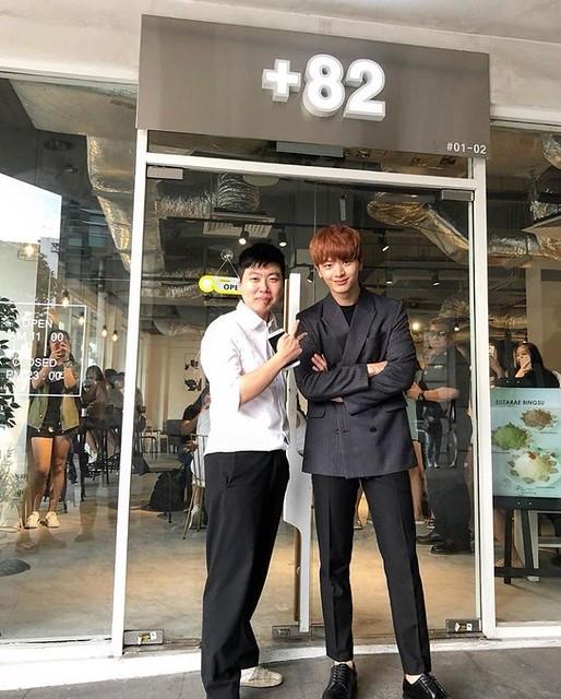 Sungjae at +82