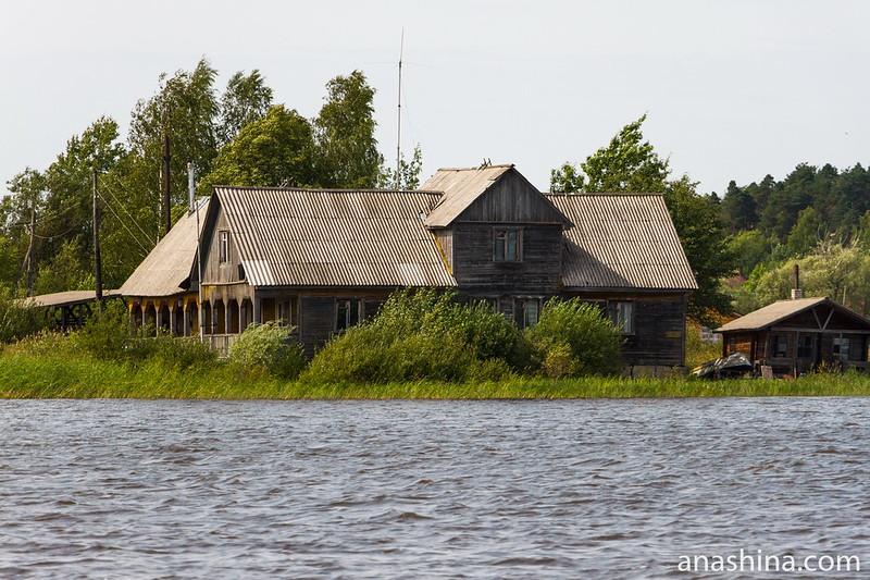 Старый дом, Ладожское озеро
