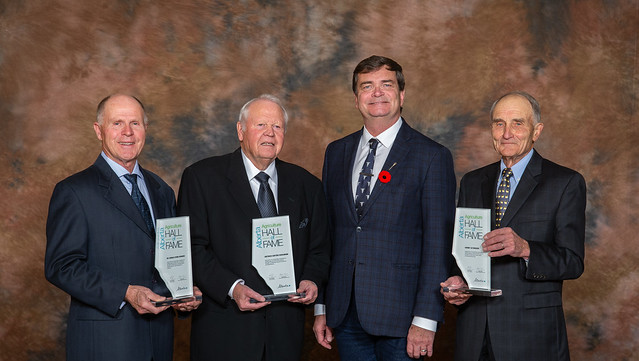 Agriculture leaders inducted into Hall of Fame
