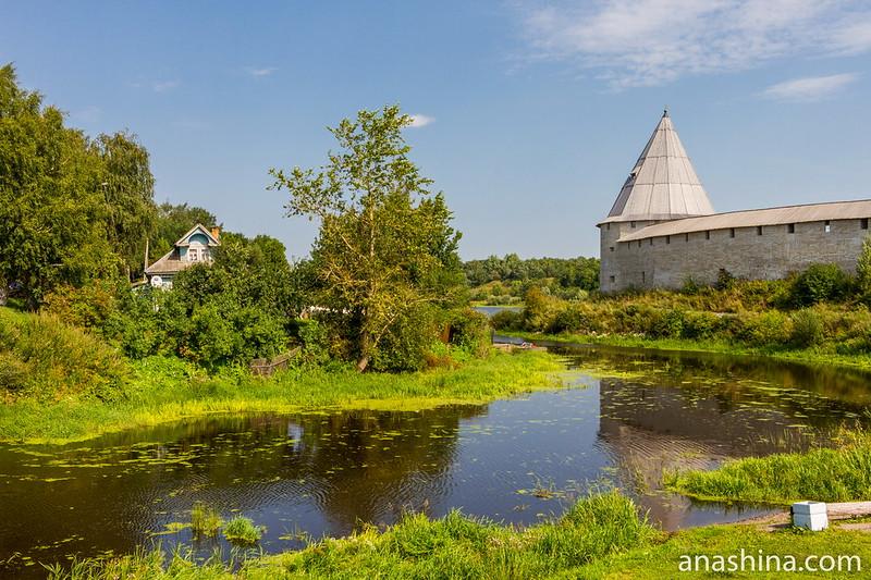 Река Ладожка, Ладожская крепость, Старая Ладога