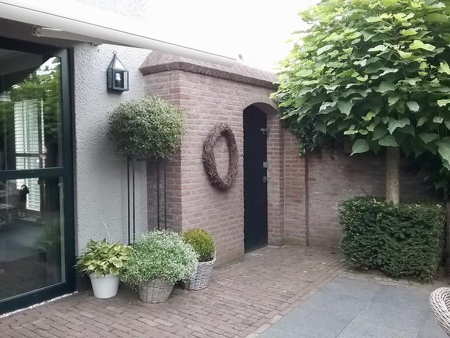 Tuinpoort landelijke stijl bungalow