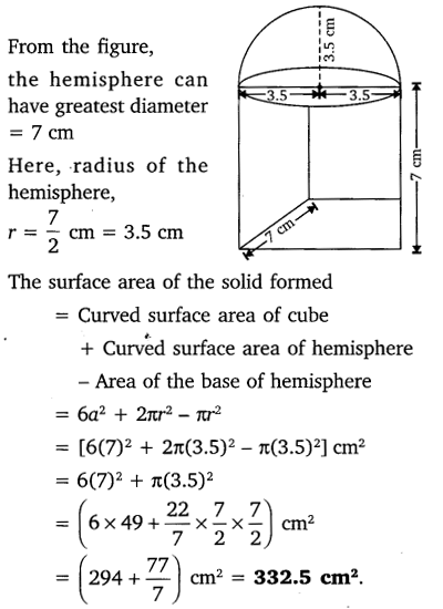 NCERT Solutions for Class 10 Maths Chapter 13 Surface Areas and Volumes 4
