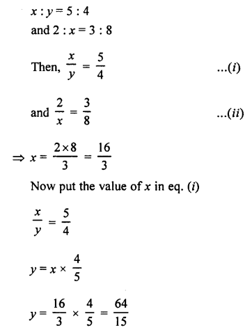 Selina Concise Mathematics class 7 ICSE Solutions - Ratio and Proportion (Including Sharing in a Ratio) -b6