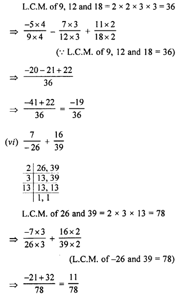 Selina Concise Mathematics class 7 ICSE Solutions - Rational Numbers-e1.........