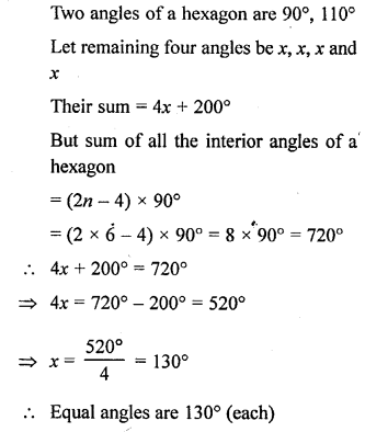 Selina Concise Mathematics Class 6 ICSE Solutions - Polygons-a10