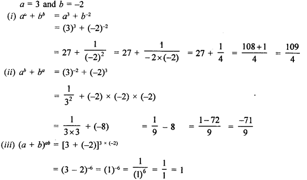 RD Sharma Class 9 Solutions Chapter 2 Exponents of Real Numbers Ex 2.1 - 2
