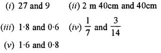 Selina Concise Mathematics class 7 ICSE Solutions - Ratio and Proportion (Including Sharing in a Ratio) -b3