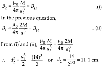 NCERT Solutions for Class 12 Physics Chapter 5 Magnetism and Matter 19