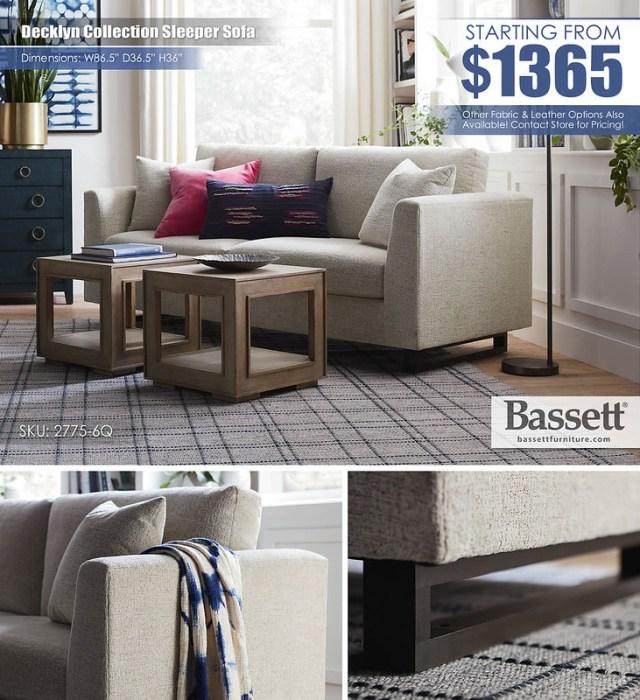 Decklyn Bassett Sleeper Sofa_2775-6Q