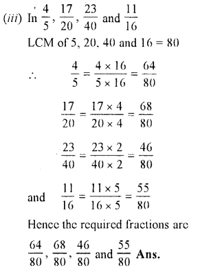 Selina Concise Maths class 7 ICSE Solutions - Fractions (Including Problems)-B2..