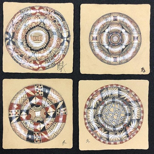"""Beyond Basics: Reticula and Fragments"" class tiles"