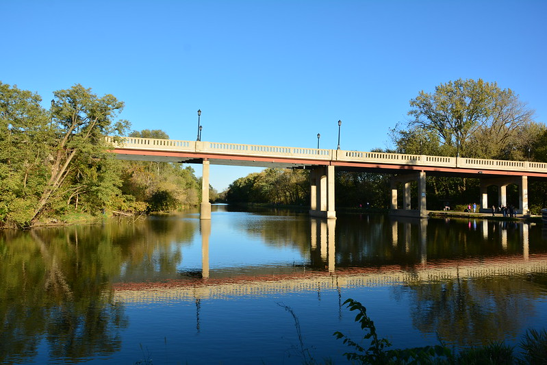 Joliet Street Bridge over Illinois & Michigan Canal