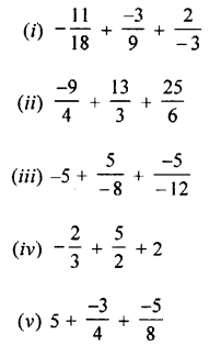 Selina Concise Mathematics class 7 ICSE Solutions - Rational Numbers-c4