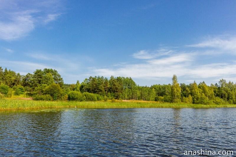 Живописный берег, Ладожское озеро
