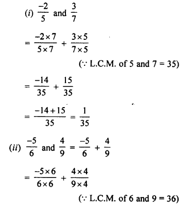 Selina Concise Mathematics class 7 ICSE Solutions - Rational Numbers-c2...