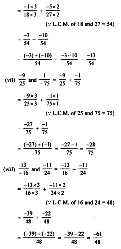Selina Concise Mathematics class 7 ICSE Solutions - Rational Numbers-c2..........
