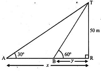 RD Sharma Class 10 Solutions Chapter 12 Heights and Distances Ex 12.1 - 52