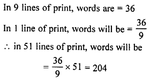 Selina Concise Mathematics class 7 ICSE Solutions - Unitary Method (Including Time and Work)-a14