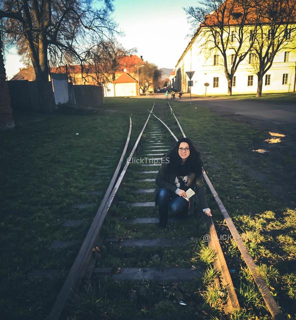 Antiguas vías | Campo de concentración de Terezín