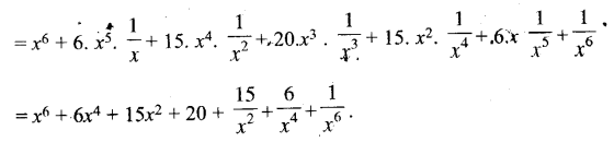 UP Board Solutions for Class 11 Maths Chapter 8 Binomial Theorem 8.1 5.1