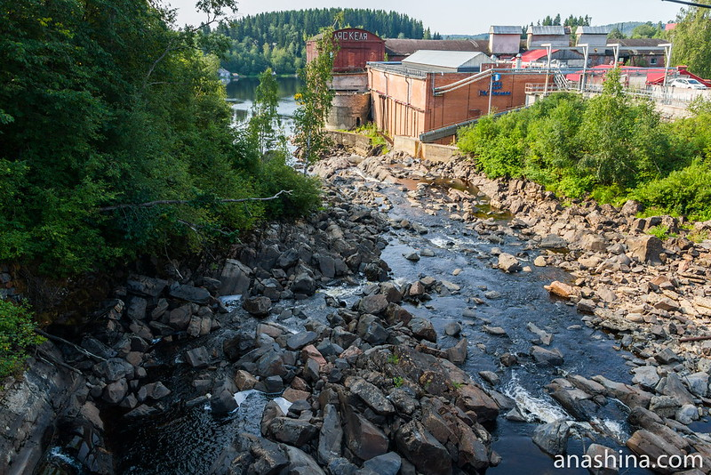 Ляскеля ГЭС, Карелия