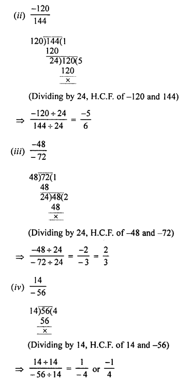 Selina Concise Mathematics class 7 ICSE Solutions - Rational Numbers-a13....