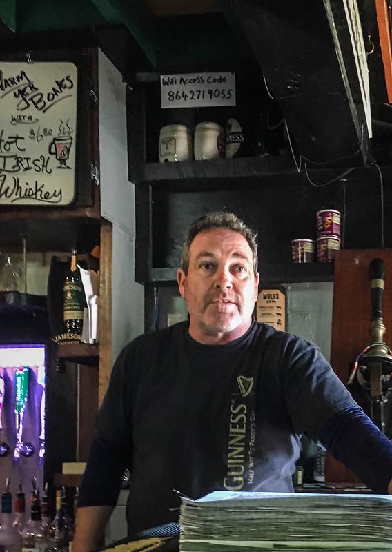Patrick at The Irish Pub
