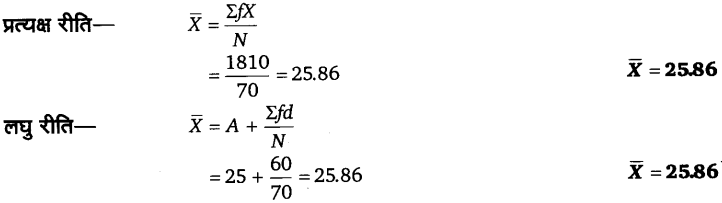 UP Board Solutions for Class 11 Economics Statistics for Economics Chapter 5 Measures of Central Tendency 39