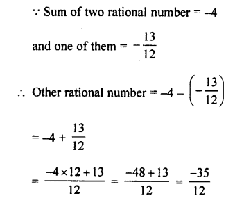 Selina Concise Mathematics class 7 ICSE Solutions - Rational Numbers-c9