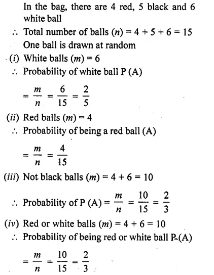 RD Sharma Class 10 Solutions Chapter 16 Probability Ex 16.1 17
