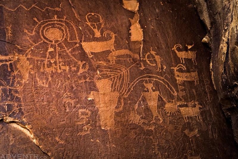 Fremont Petroglyphs