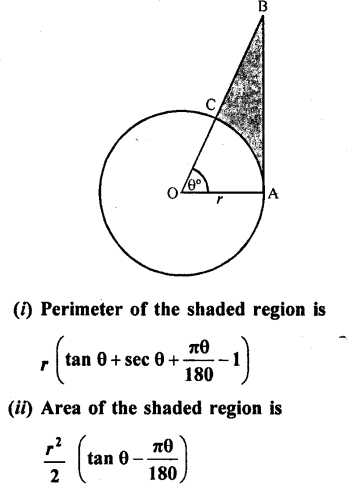 RD Sharma Class 10 Solutions Chapter 13 Areas Related to Circles Ex 13.2 - 26