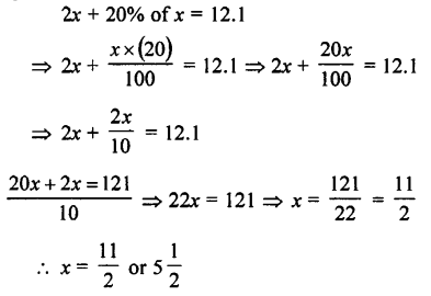 Selina Concise Mathematics class 7 ICSE Solutions - Simple Linear Equations (Including Word Problems) -c30