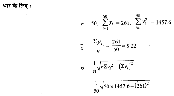 UP Board Solutions for Class 11 Maths Chapter 15 Statistics 15.3 5.2