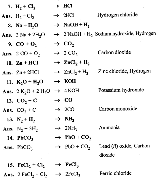 Selina Concise Chemistry Class 7 ICSE Solutions - Language of Chemistry-a6