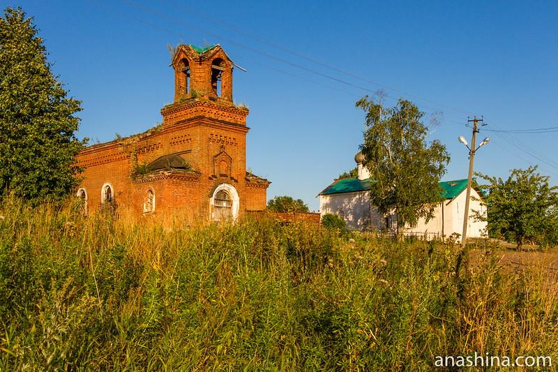 Васильевский погост в Чернавино