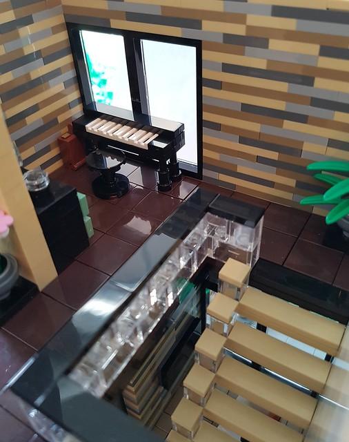 Lilium Eco House MOC keyboard