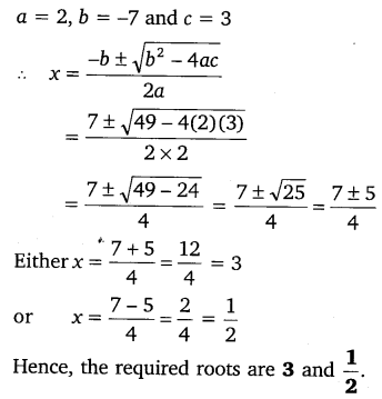 NCERT Solutions for Class 10 Maths Chapter 4 Quadratic Equations 16