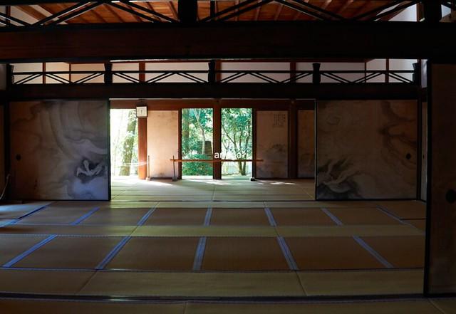 龍安寺 室内