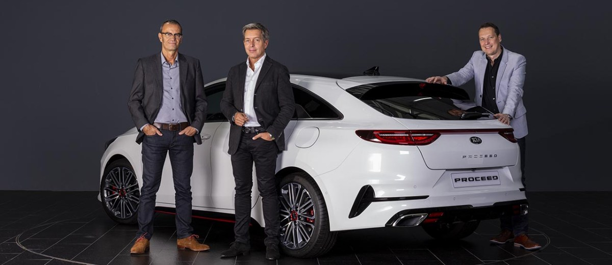 Kia Europe Designers On The New Proceed Design