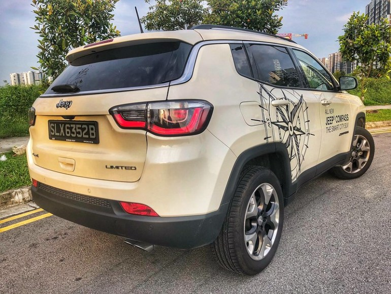 All-New Jeep Compass Limited 2018