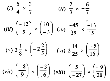 Selina Concise Mathematics class 7 ICSE Solutions - Rational Numbers-d1