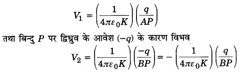 UP Board Solutions for Class 12 Physics Chapter 2 Electrostatic Potential and Capacitance SAQ 3.1
