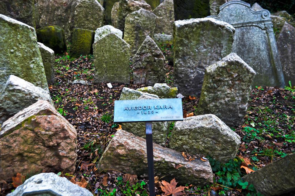 La lápida más antigua del cementerio judío | Josefov