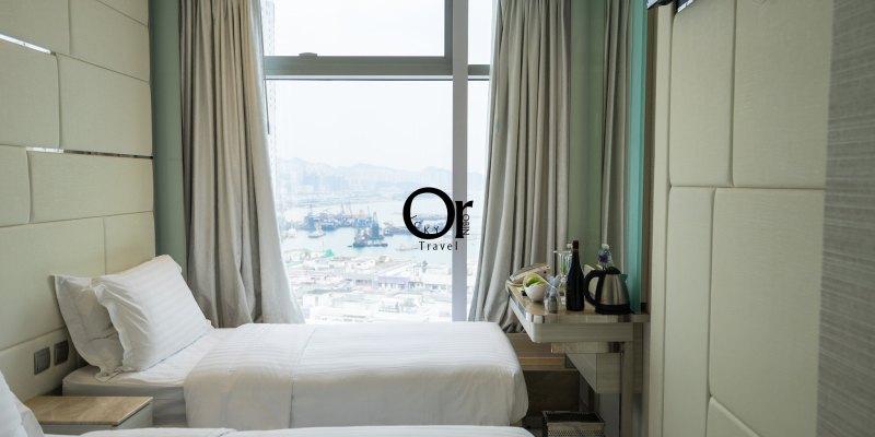 香港住宿|iClub 富薈馬頭圍酒店,躺在床上就能欣賞土瓜灣馬頭圍日出,兩分鐘抵達土瓜灣站,快速退房省去大量時間