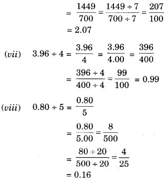 NCERT Solutions for Class 7 Maths Chapter 2 Fractions and Decimals 77