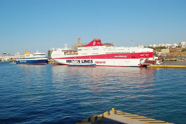 Ferry at Piraeus