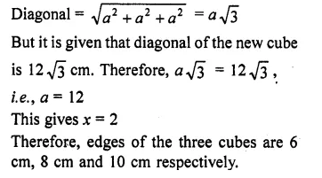 RD Sharma Class 10 Solutions Chapter 14 Surface Areas and Volumes Ex 14.1 12