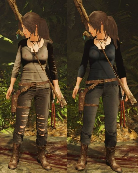 Shadow of the Tomb Raider - Nipples